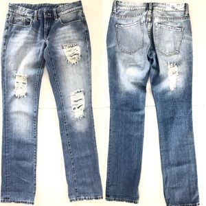 Blank NYC Distressed Bootcut Jean